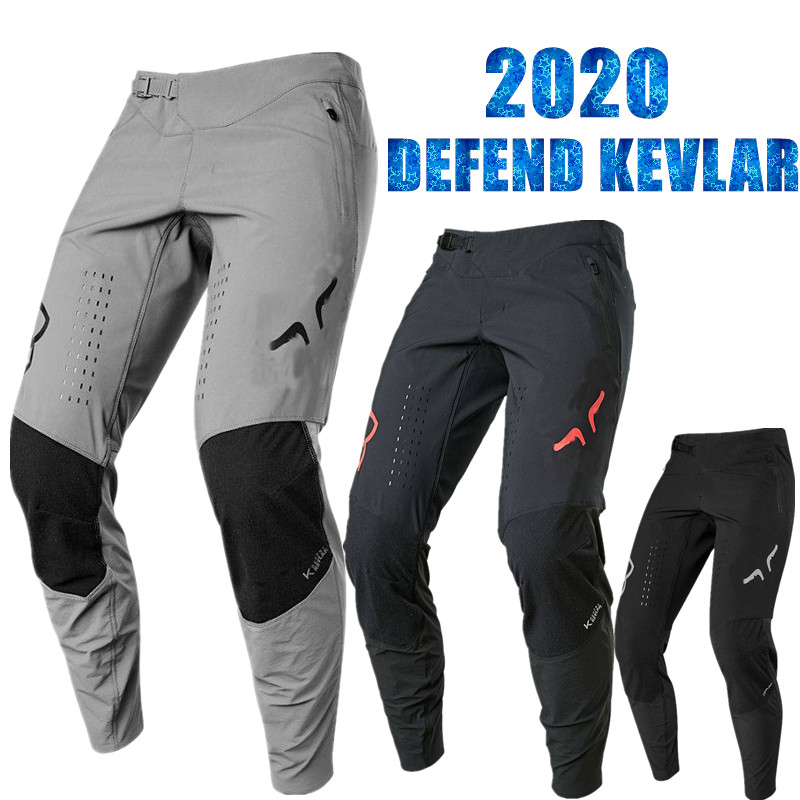 2020 STREAM FOX Defend Kevlar MTB Riding Pant Ride Mountain Bike Pant Motorcycle Warm XC Cycling Pant