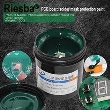 Супер PCB УФ Фоточувствительный чернила, зеленый, белый, синий, красный или черный PCB УФ излечиваемый припой сопротивляться чернилам, паяльная маска УФ чернила