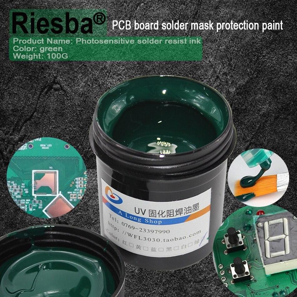 Super PCB UV Photosensitive Inks, Green,White,Blue,Red Or Black PCB UV Curable Solder Resist Ink,solder Mask UV Ink