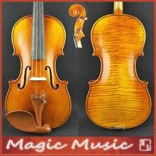 """Antonio Stradivarius 171"""" Почва"""" Копия мастер-уровень 4/4 скрипка#2192, европейская ель и масляная лака ручной работы"""