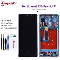 Original OLED For Huawei P30 Pro LCD Touch Screen VOG L29 VOG L09 VOG L04 P30 Replacement LCD Screen For HUAWE P30 Pro Display