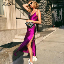 Anbenser Maxi Dress Boho Plus Size Summer Casual Spaghetti Strap Long Elegant Party Sexy Sleeveless Vestidos Dresses