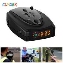 Anti Radar Detector Car Voice Speed Alert X K Band English Russian Thai STR-525 for Caring Personal Cars Accessories