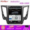 "KiriNavi Vertikale Bildschirm Tesla Stil 12 1 ""Auto Multimedia Für Mitsubishi Pajero Sport Montero Android 8.1 Radio GPS Navigation-in Auto-Multimedia-Player aus Kraftfahrzeuge und Motorräder bei"