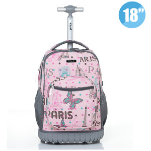 New 18 inch Rolling Backpack C
