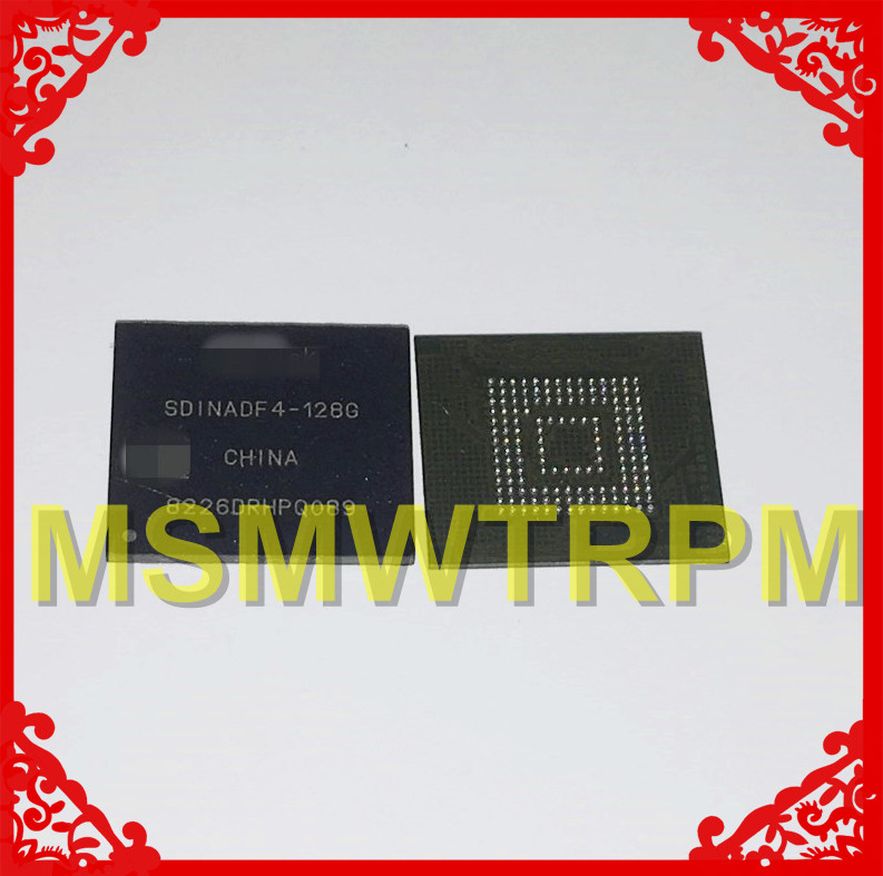 SDINADF4-128G BGA153Ball EMMC5.1 EMMC128GB EMMC128G EMMC 128GB 128G Memory New Original And Second-hand Soldered Balls Tested OK
