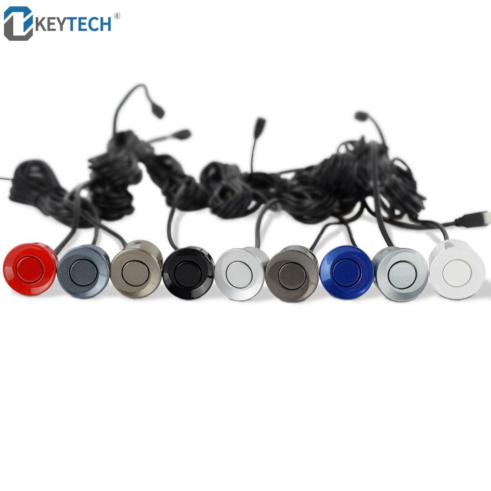 OkeyTech 22mm Parkplatz Sensoren Parktronic Summer Lage Auto Reverse Backup Radar Erkennung Radar Überwachung Sonde System