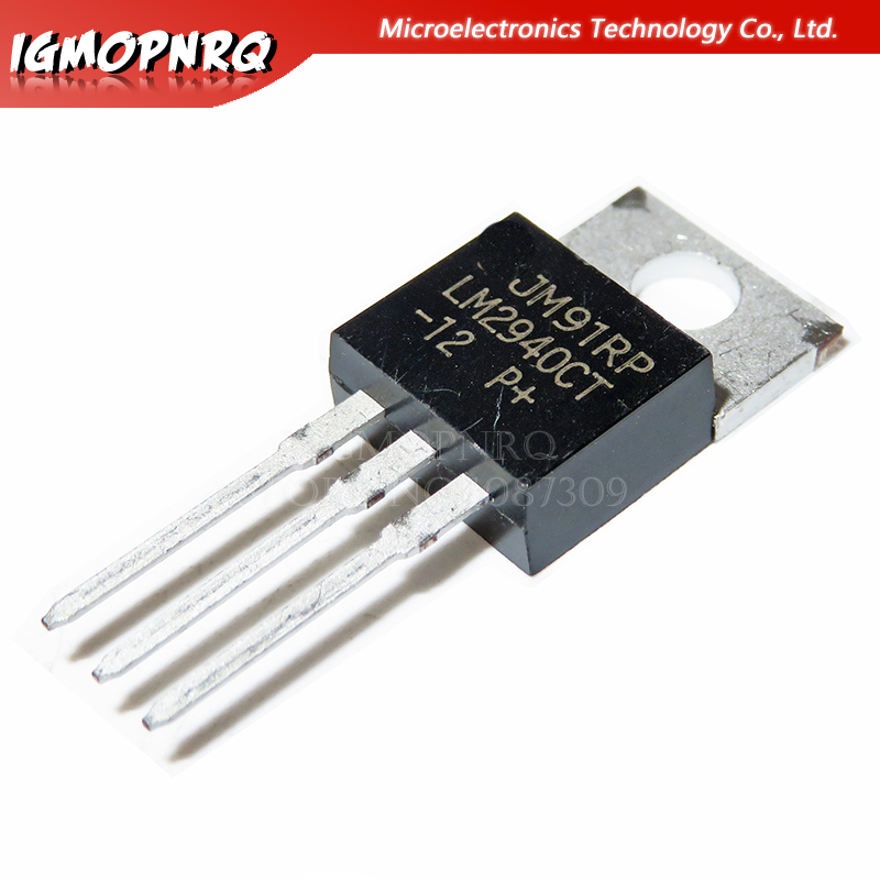 10PCS LM2940CT-12 TO220 LM2940CT TO-220 LM2940-12 new and original IC image