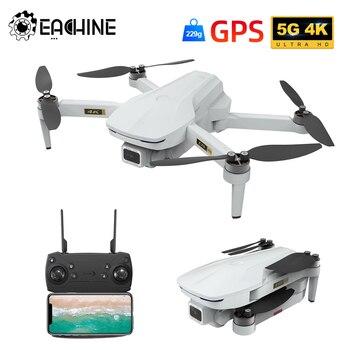 Eachine EX5 30mins Flight Time Mini FPV 200M/1000M Drone 4K GPS 5G WIFI With Brushless Motor Foldable RC Quadcopter Dron Toys