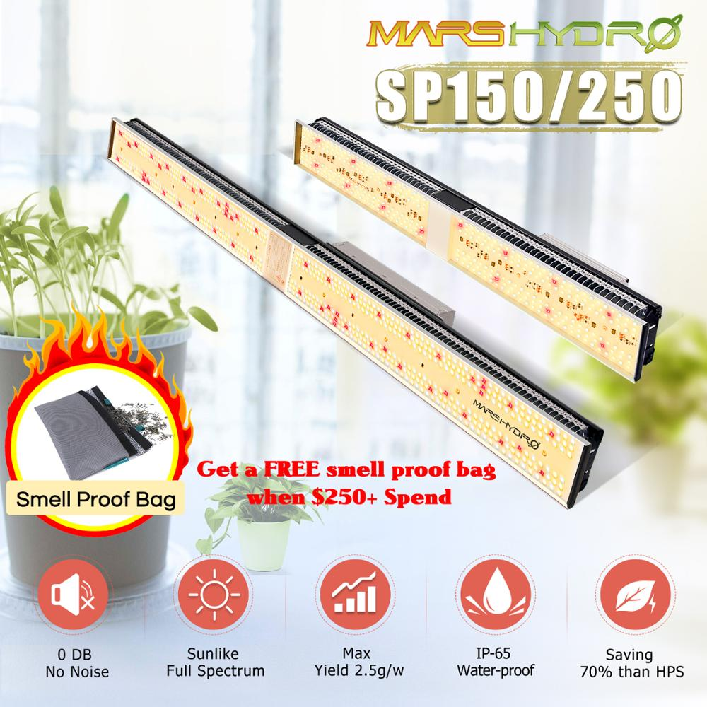 Mars Hydro SP 150 250 Full Spectrum LED Grow Lights Strip Grow Tent Hydroponics Veg and Flower|LED Grow Lights| |  - title=