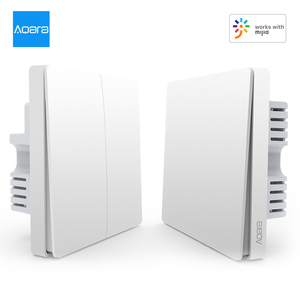 Aqara Wall Switch Intelligent Home Switching Remote Control Home Kit Mi Home App(Single Firewire One/ Double Key Version)(China)