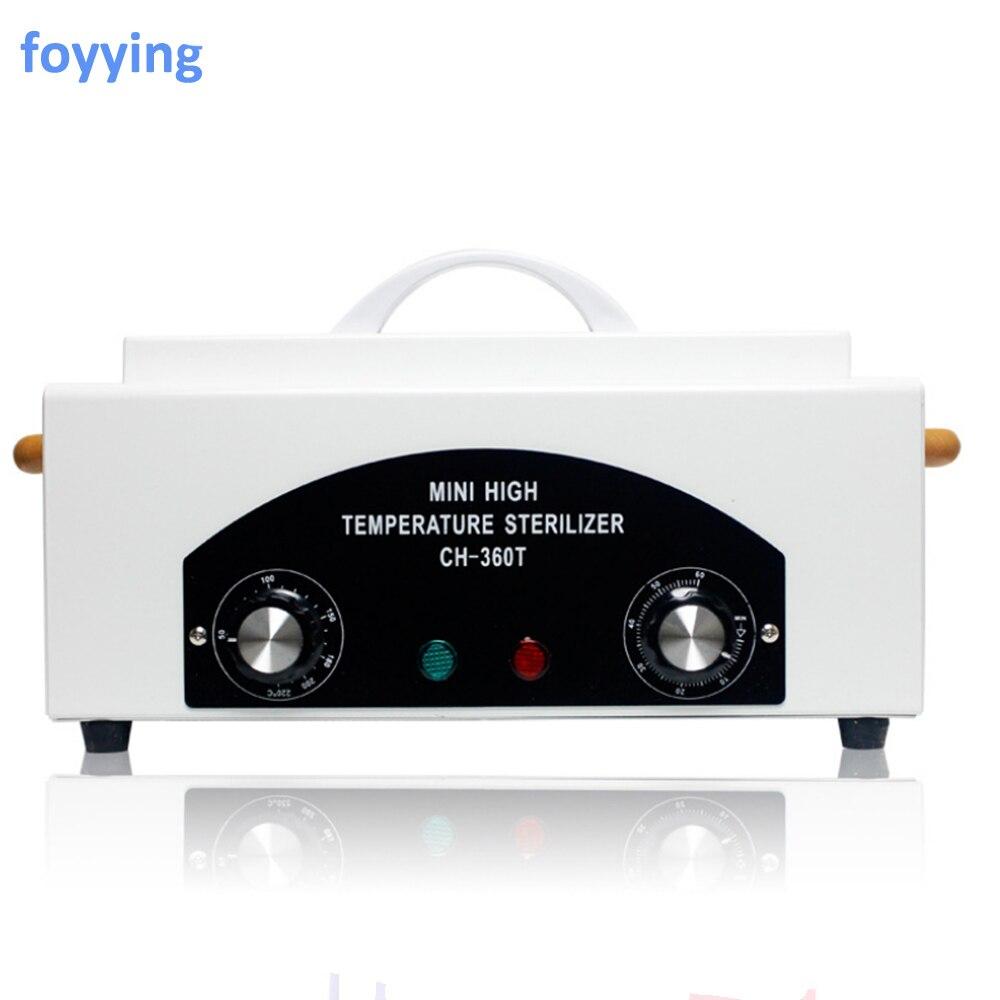 Стерилизатор для ногтей foyyying, высокотемпературный стерилизатор для сушки и маникюра, 300 Вт