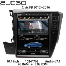 цена на Car Multimedia Player Stereo GPS DVD Radio Navigation NAVI Android Screen Monitor for Honda Civic FB 2012 2013 2014 2015 2016