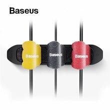 Baseus держатель для кабеля, органайзер, протектор для управления, намотка для мыши, держатель для провода, зажим для автомобиля, стильный держатель для кабеля, аксессуары