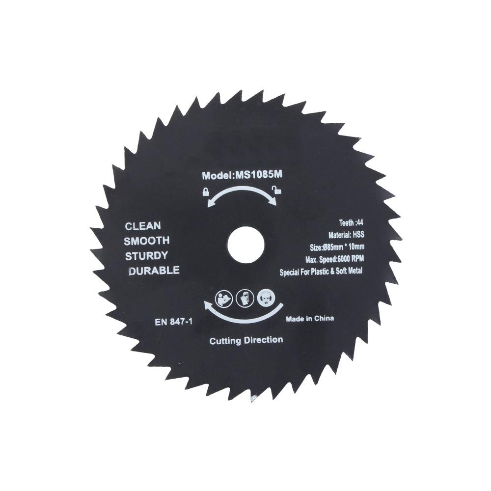 Новинка 1 шт. 85 мм 72 т HSS мини дисковая пила колесо режущего диска для деревянных металлических рабочих инструментов Горячая Распродажа LUBAN