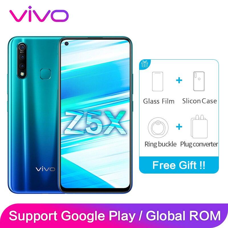 "vivo Z5X Support Global ROM Original Package 6GB 128GB 2340*1080 6.53"" Screen 16MP+16MP+8MP+2MP Octa Core Smartphone"