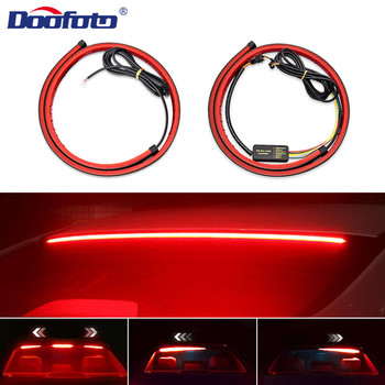 Auto High Mount Stop Lamp Brake Light Single/Colors Multi-Mode LED Car Styling Safety Driving Warning Accessories For BMW Audi image