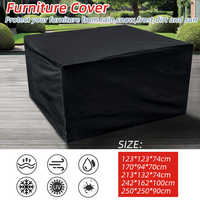 5Sizes Waterproof Outdoor Patio Garden Furniture Covers Rain Snow Chair covers for Sofa Table Chair Dust Proof Protective Case