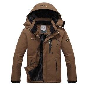 Image 4 - SPORTSHUB Chaqueta impermeable con forro polar interno para hombre, abrigo cálido para exteriores, senderismo, Camping, Trekking, esquí, SAA0082