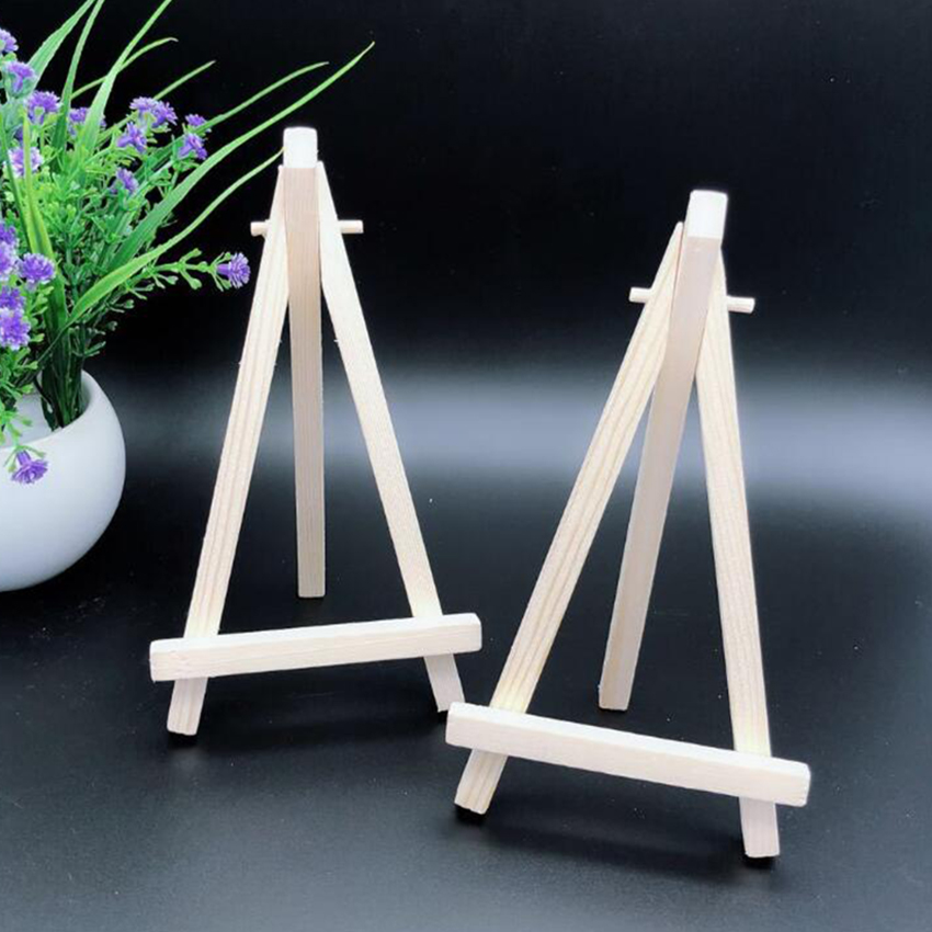 20*30cm Mini Wooden Easels Display Stand Holder Art Students Stationery Watercolor Painting Supplies Sketch Oil Drawing Bracket