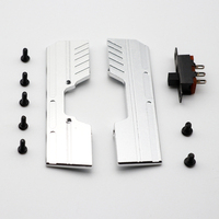 1:32 RC crawler Orlandoo Hunter chassis bottom side pedal panel for Pajero A02 OP accessories with switch