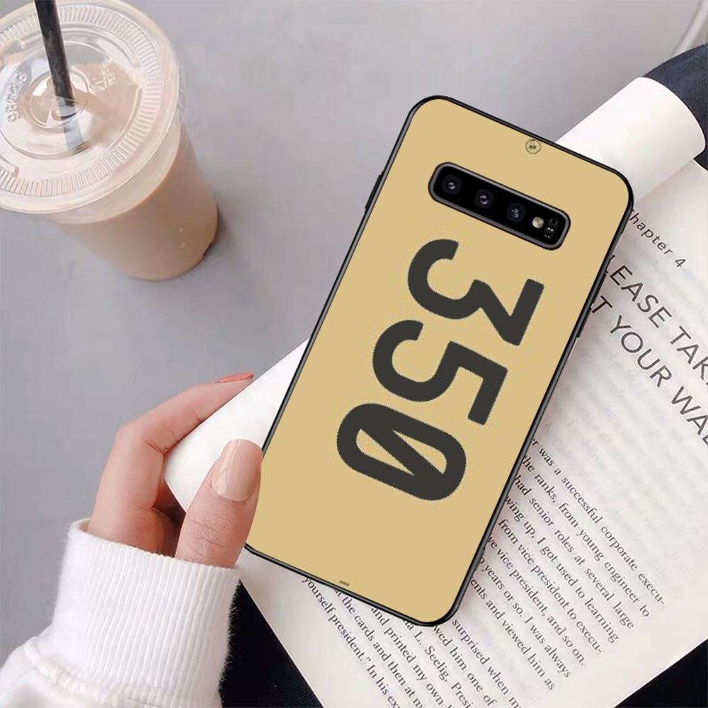 NBDRUICAI Hot 350 boost v2 700 Kanye DIY Luxury Phone Case for Samsung S9 plus S5 S6 edge plus S7 edge S8 plus S10 E S10 plus