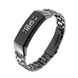 Image 2 - Watch Strap Honor band 3 Bracelet for Huawei Honor 3 Band Watch Band Wristband Stainless Steel Bracelet for Huawei 3 Honor Band