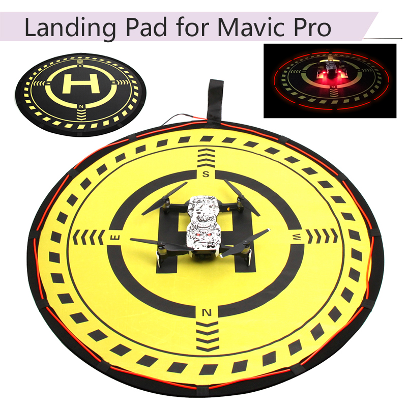 70CM Landing Pad Folding Parking Landing Mat For DJI Mavic Pro Mavic Air Spark Phantom 3 4 Pro Inspire 1 Yuneec Mavic Mini