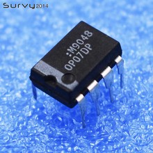 5/10/10 OP07DP Op Amp IC 8 Pin OP07D Electronic Product Compatible Board Electro