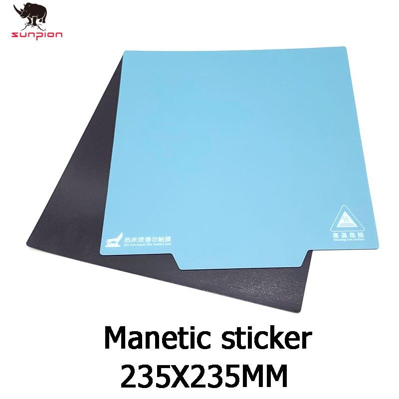 creality 3d ender 3 magnetico construir 235 235mm superficie placa adesivo almofadas ultra flexivel removivel 3d