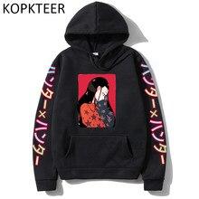 Caçador illumi alluka feitan hoodies harajuku masculino feminino hoodies engraçado dos desenhos animados impressão de manga longa camisolas casuais