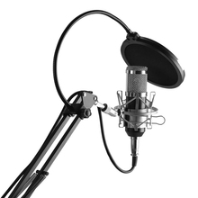 Sound Recording Device Sensitive Microphone Kit High Quality Sound For Personal Recording Karaoke Professional Microphone cheap FORNORM Handheld Microphone Condenser Microphone Stage Performance Wireless Microphone Multi-Microphone Kits Omnidirectional