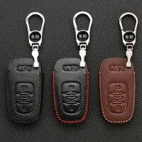 Adequado para Audi Chaveiro A4L A6L Q3 Q7 Q5 E Outras Séries de Carro Inteligente Estojo protetor Homens E Mulheres|Estojo de chaves p/ carro| |  -