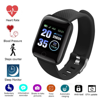 Digital Watch Man Woman Sports Fitness Bracelet Pedometer Measurement Heart Rate Monitor Sport wach Smart watch 2021 Kids Wrist image