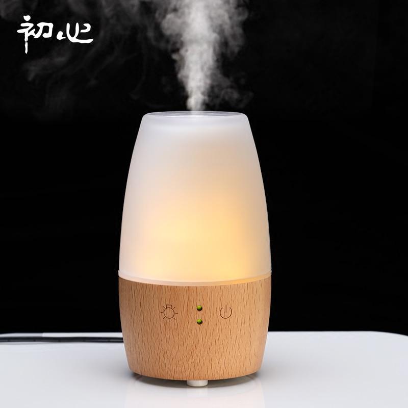 Mute Electric Incense Burner Aroma Lamp Bedroom Ultrasonic Air Humidifier Incense Holder Bruleur Encens Aroma Oil Burner MM60XXL