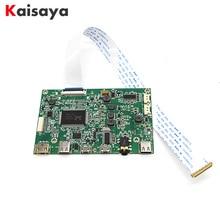 Edp carte pilote portable écran LCD HD mini HDMI type c carte pilote 5V alimentation avec prise casque 3.5mm G1009