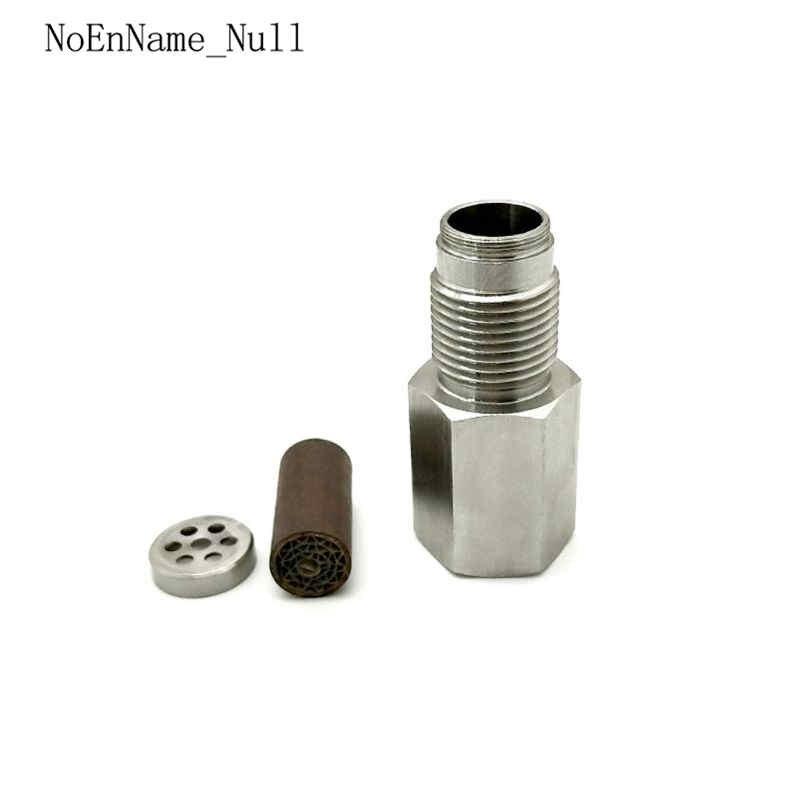 2Pcs 90 Degree Check Engine Light Eliminator With O2 Sensor Bung And Plug Sets