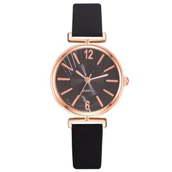 Simple Black White Watches Women Fashion Luxury Brand Quartz Watch Casual Woman Leather Clock Ladies Wristwatch Relogio Feminino shifenmei watches women luxury brand waterproof fashion watches quartz watch woman leather wristwatch for girl relogio feminino