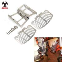 Motorcycle Water Radiator Water Cooler Protection Bracket For Ktm SX SXF XCF 125 150 200 250 300 350 400 450 16 All Models 17 18