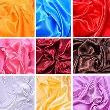 Fabric Lining Silks Satins Color Butyl Gift Box Lieb Handmade DIY Tablecloth Curtain Decoration Dec 100x150cm Hair Wrap Bags