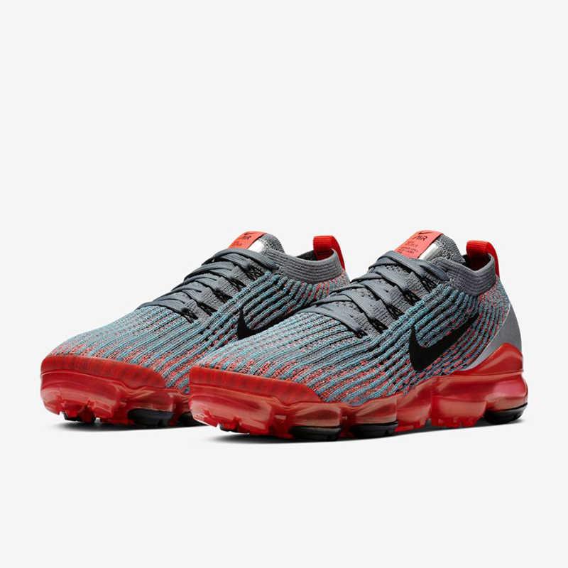Nike ar vapormax flyknit 3.0 tênis para mulher esporte respirável ao ar livre confortável