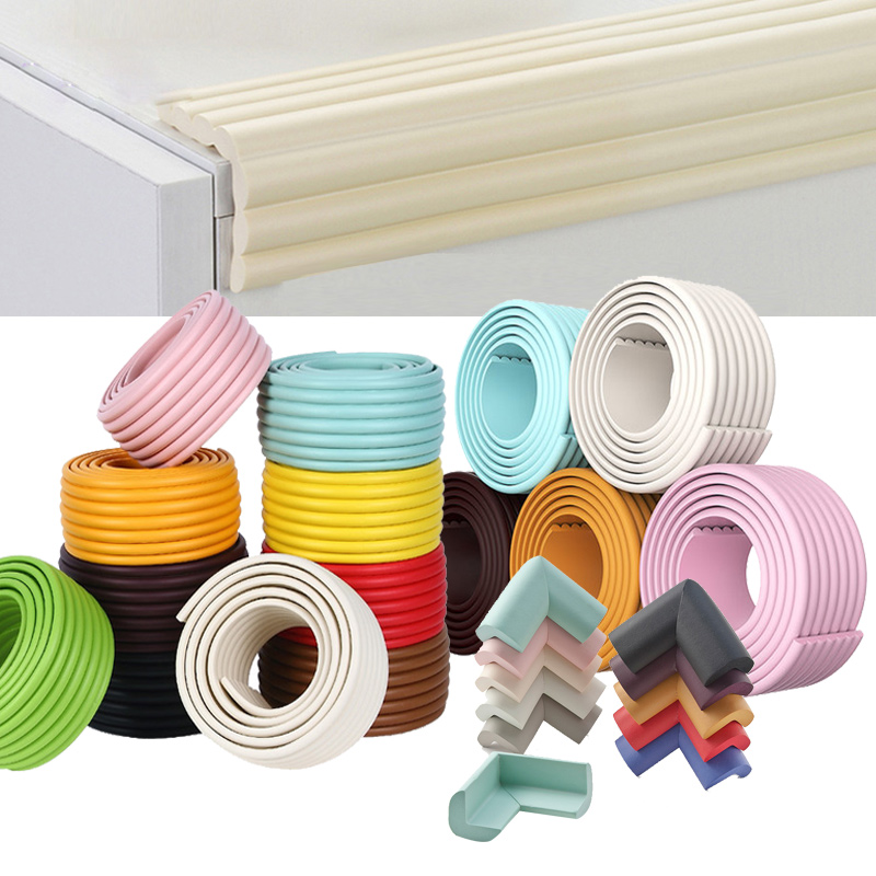 2M Baby Protection From Children Safety Corner Protector DIY Bumper Strip Safe Table Desk Furniture Edge Guard Foam Protection