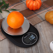 Portable 5kg 1g Digital Scale LCD Electronic Steelyard Kitchen Scales Stainless Steel Platform Food Balance Measuring Weight цена 2017