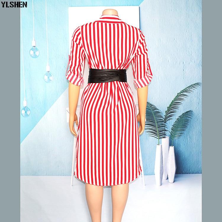New African Dresses for Women Vetement Femme 2019 Super Elastic Africa Shirt Dress African Clothes Dashiki Ankara Dresses Ladies 06