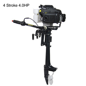 Image 3 - 4 Stroke 4HP 6HP 7HP Outboard motor Boat Engine Boat Motor Air Cooling System Hand start Motor High Quality