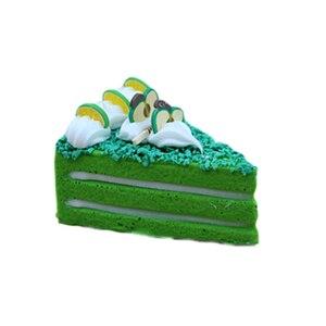 Image 5 - 3 pcs/6 pcs עוגת מזויף פירות עוגת דגם מודל עוגת תה שולחן קישוט מלאכותי פירות עוגות קינוח מזויף
