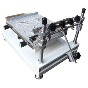 Image 4 - 表面実装エレクトロニクス YX3040 デスクトップ自動シルクスクリーン印刷機半自動シルクスクリーン印刷 pnp 機システム