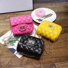 Children's Mini Handbags Cute Crossbody Bags for Kids Small Coin Wallet Pouch Baby Girls Rivet Party Clutch Purse Chain Bag
