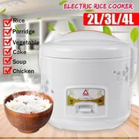 متعددة الوظائف وعاء طبخ أرز كهربائي 2/3/4L سبيكة الحديد الزهر التدفئة قدر الضغط صانع كعكة الحساء أجهزة المطبخ المنزلية-في أجهزة طبخ الأرز من الأجهزة المنزلية على