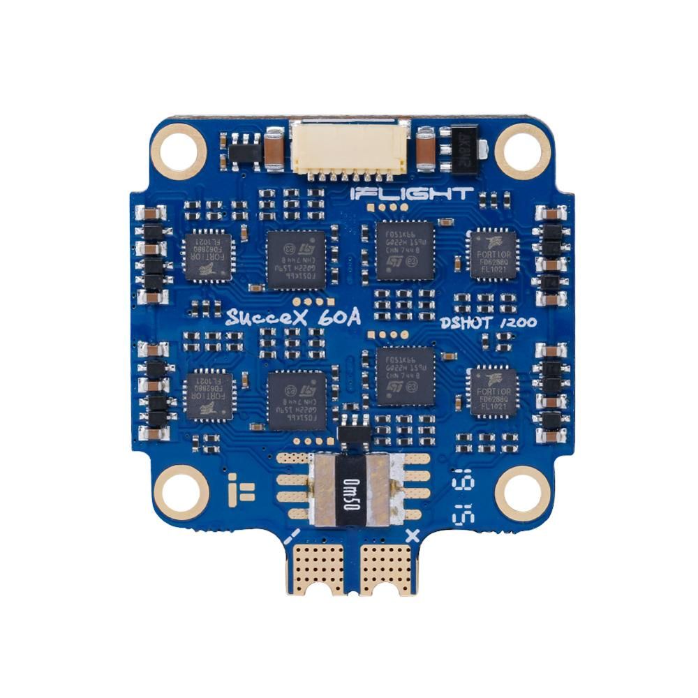iFlight SucceX 60A V2 Plus BLHeli 32 4 in 1 ESC support DShot 150 / 300 / 600 / 1200 /OneShot & 2 8S lipo input for FPV drone - 3